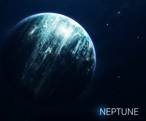 neptune, planet, and solar system image
