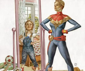 Marvel, captain marvel, and carol danvers image
