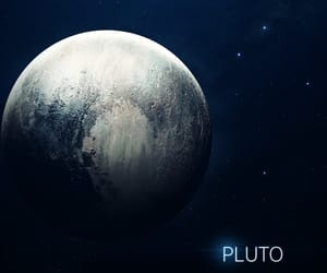 planet, pluto, and solar system image