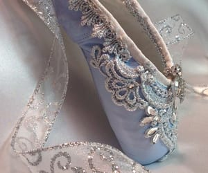 baby blue, ballet shoes, and costume image