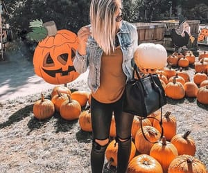 blonde, cold, and Halloween image