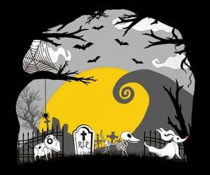 Halloween, tim burton, and perros image