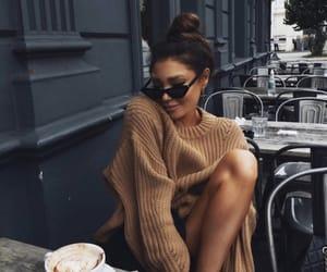 fashion, cafe, and coffee image