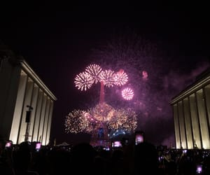 fireworks, french, and paris image