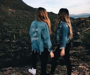 friends, friendship, and nature image