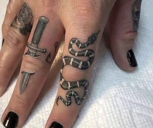 snake and Tattoos image