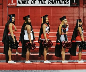 cheer, graduation, and melanin image
