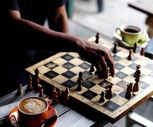 aesthetic, chess, and chessboard image