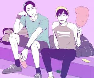 bl, yaoi, and webtoon image