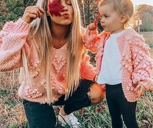 autumn, girl, and daughter image
