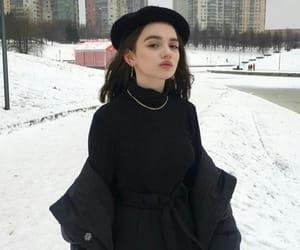 black, elegant, and fashion image