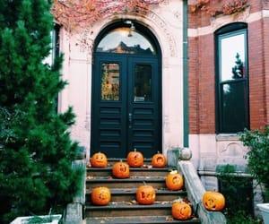 decor, house, and pumpkins image