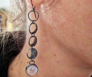astrology, jewelry, and earrings image