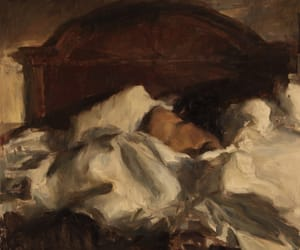 ron hicks, art, and painting image