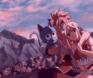 anime girl, happy, and fairy tail image
