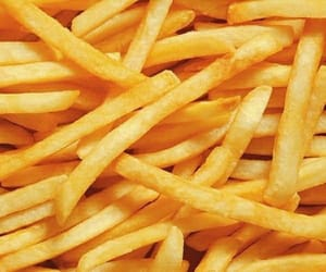 cook, fries, and gluttony image