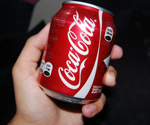 photography, coca cola, and red image