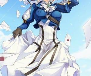 anime, violet, and violet evergarden image