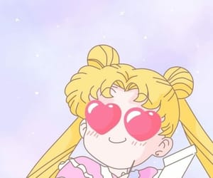sailor moon, wallpaper, and usagi tsukino image