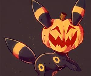 fanart, Halloween, and pokemon image