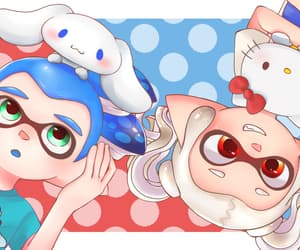 blue, boy, and bunny image
