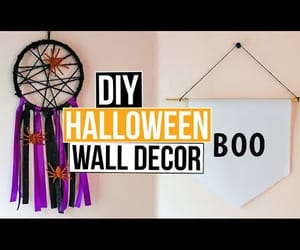 Halloween, wall decor, and diy room decor image