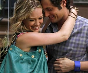 dan humphrey, gossip girl, and Hilary Duff image