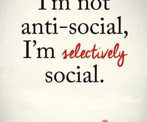 antisocial, quote, and society image