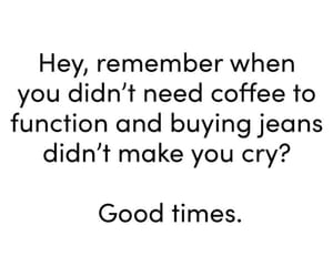 childhood, funny, and coffee image