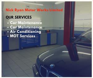 car maintenance, car repair, and mot services image