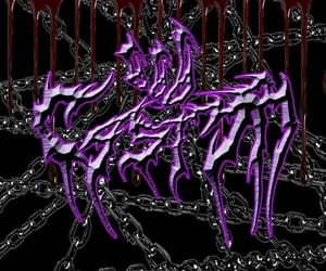 cyber, theme, and goth image