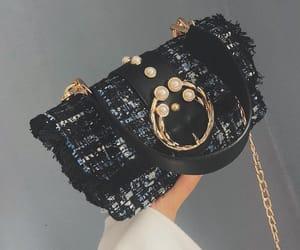 metal, handbagaddict, and tweed image
