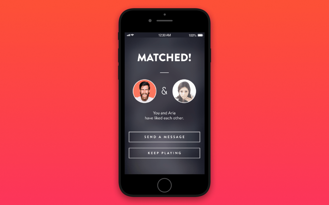 how to create dating app