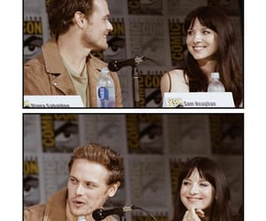outlander, sdcc, and samheughan image