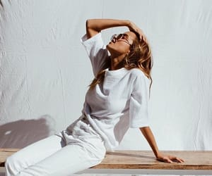 cool, fashion, and white image