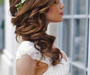 brown, capelli, and hair image