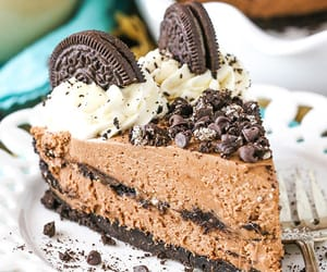 chocolate, pie, and sweets image