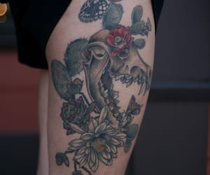 joshua tree, artists on tumblr, and cactus tattoo image
