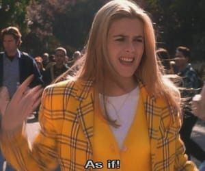 Clueless, 90s, and yellow image