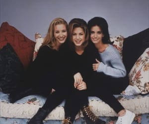 friends, Jennifer Aniston, and Lisa Kudrow image