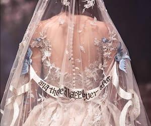 aesthetic, wedding, and dress image