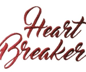red, love, and heart breaker image