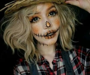 Halloween, autumn, and makeup image