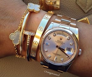 luxury, rolex, and cartier image