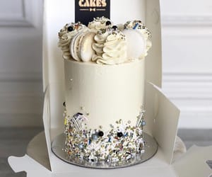 cake, cream, and candy image