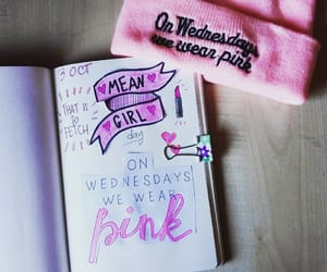 journal, journal art, and mean girls image