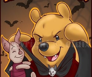disney, Halloween, and winnie the pooh image