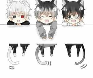 anime, cutie, and kaneki ken image