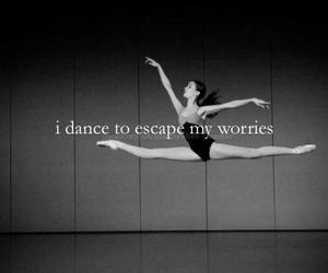dance, ballet, and worries image