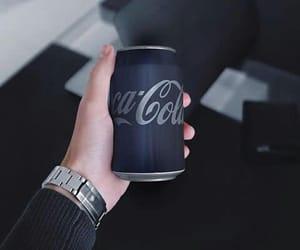 black and coca-cola image